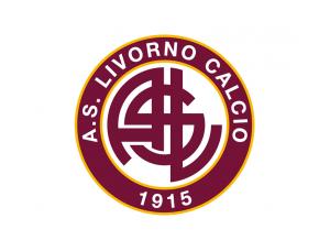 意甲利沃诺队徽标志矢量图