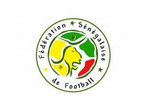 塞內加爾國家足球隊隊徽標志矢量圖