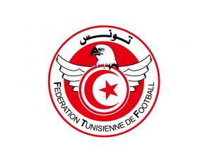 突尼斯國家足球隊隊徽標志矢量圖