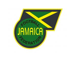 牙买加国家足球队队徽标志矢量图