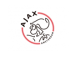 阿賈克斯隊徽標志矢量圖
