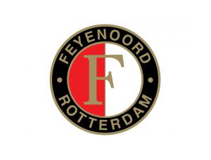 费耶诺德队徽标志矢量图