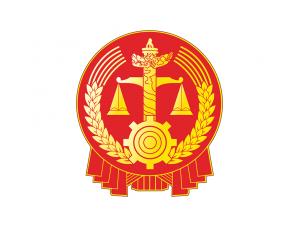 人民法院院徽标志矢量图