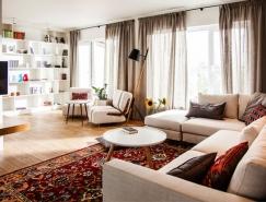漂亮优雅的现代公寓设计欣赏