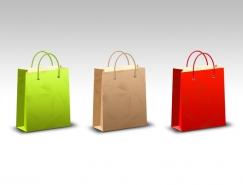 3款购物袋PSD素材