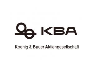 印刷机品牌:KBA高宝标志矢量图