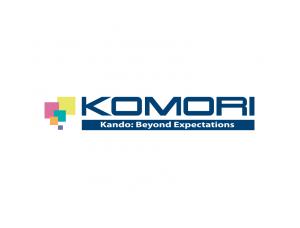 印刷机品牌:Komori小森标志矢量图
