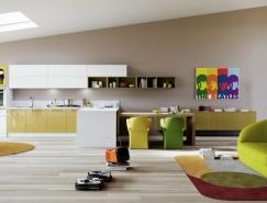 豪华气派的现代厨房装修欣赏