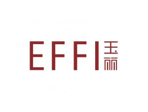 EFFI玉丽化妆品标志矢量图