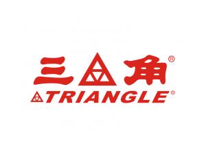 三角輪胎標志矢量圖