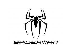 蜘蛛侠(SPIDERMAN)标志矢量图