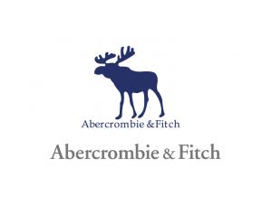 休闲服装品牌Abercrombie & Fitch标志矢量图