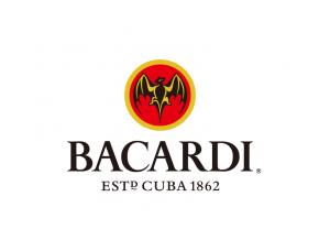 Bacardi百家得郎姆酒标志矢量图