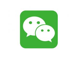 微信logo标志矢量图