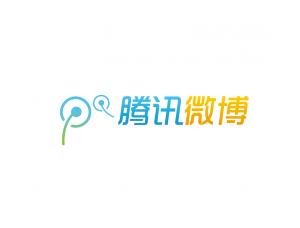 腾讯微博logo标志矢量图