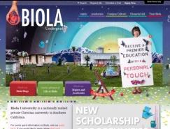 25个国外教育机构网站设计欣赏