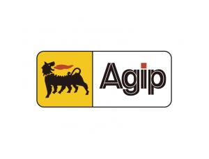润滑油品牌Agip标志矢量图