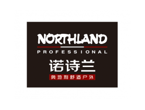 戶外品牌Northlan(諾詩蘭)標志矢量圖