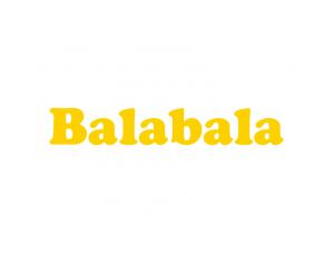 巴拉巴拉童装logo标志矢量图