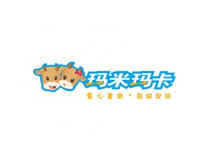 童装品牌玛米玛卡logo标志矢量图