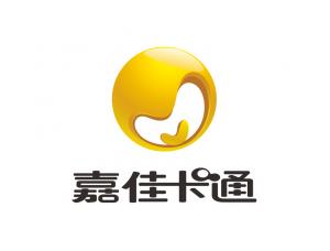 嘉佳卡通台标logo矢量图