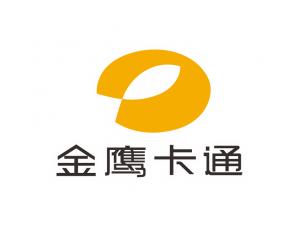 金鹰卡通台标logo矢量图