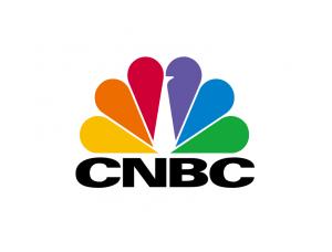 CNBC电视台台标logo矢量图