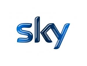 SKY英国天空电视台logo标志矢量图