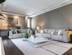 清新别致的现代风格公寓设计