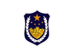 警车警徽矢量素材