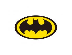 蝙蝠侠(Batman)标志矢量图