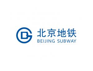 北京地铁logo标志矢量图