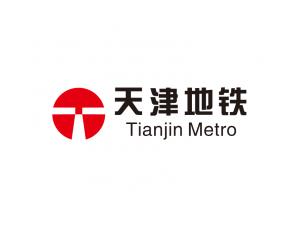 天津地铁logo标志矢量图