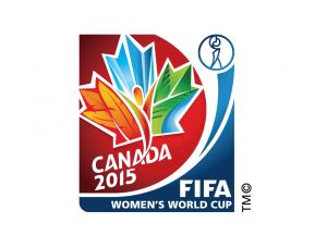 2015女足世界杯會徽標志矢量圖