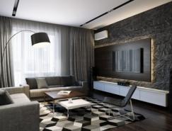 Pavel Vetrov:3个漂亮的公寓装修欣赏