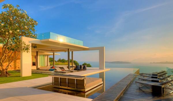 泰国苏梅岛奢华的samujana度假海景别墅 设计之家