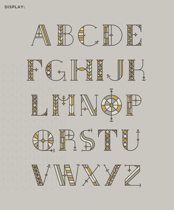 55个英文字母创意字体设计欣赏(3)图片
