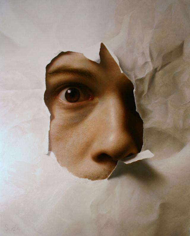 Joshua Suda超写实绘画作品欣赏