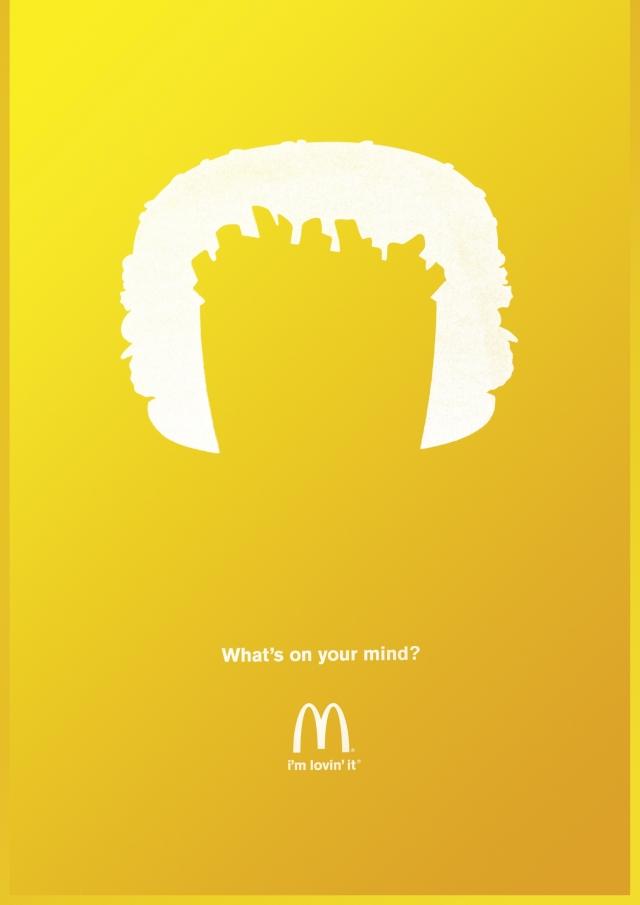 变身吧_麦当劳广告欣赏: 你想到了什么 - 设计之家