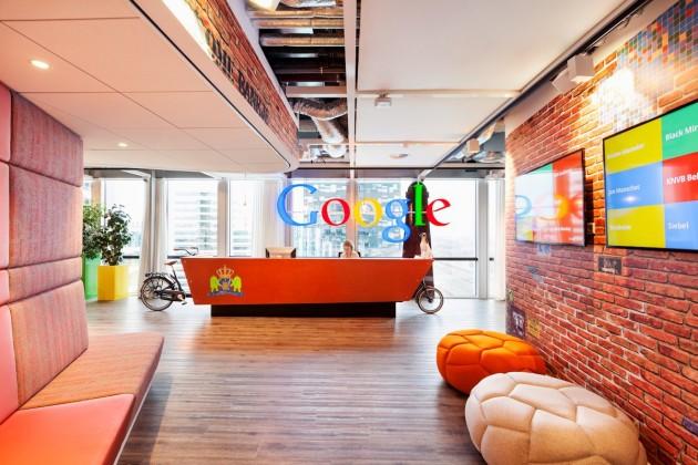 google阿姆斯特丹办公室空间设计