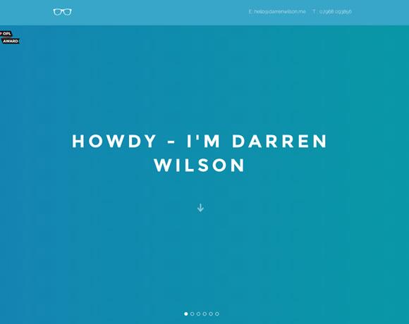 11个国外漂亮的单页面网站设计