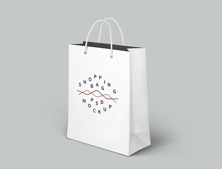 购物袋psd素材