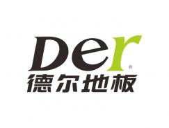 德尔地板logo标志矢量图