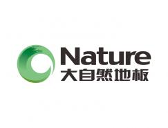 大自然地板logo标志矢量图