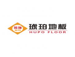 琥珀地板logo标志矢量图