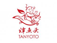 谭鱼头logo标志矢量图