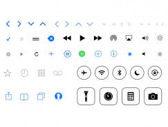 iOS 7图标PSD素材
