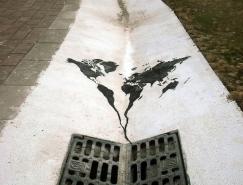 Pejac创意街头艺术欣赏
