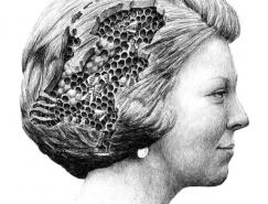 Redmer Hoekstra超现实主义风格素描插画欣赏