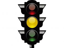 交通信号红绿灯矢量素材